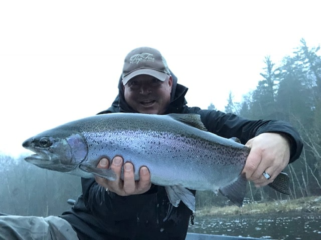 Merry Chrome Christmas & Happy New Year From Fly Fire River Guide Service!