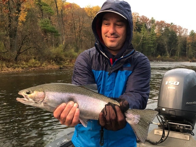 You Never Forget Your First Fall Steelhead!